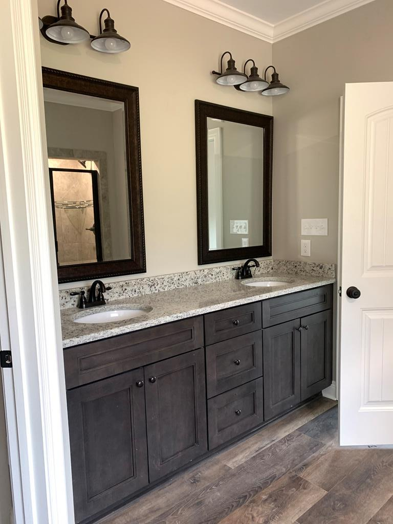 Master Bath- double vanities